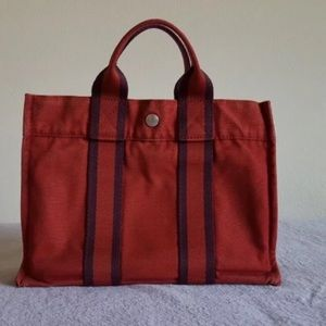 cf07eb4f3827 Hermes Bags - 🍅🍅PRELOVED AUTHENTIC HERMES CANVAS TOTE